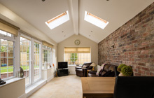 Uplands single storey extension leads
